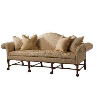 Irish Camelback Sofa