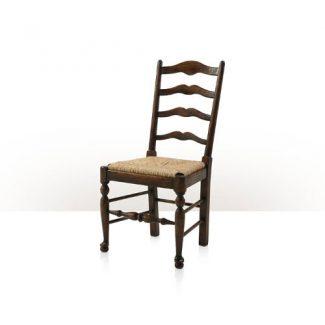Vistory Oak Ladderback Side Chair 1