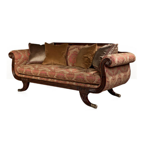 Grecian Lyre Chaise