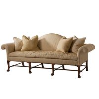 Irish Camelback Sofa
