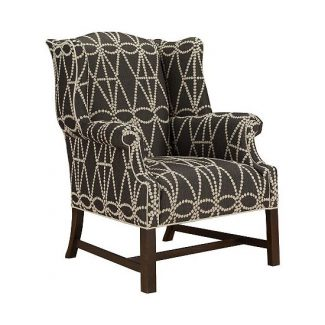 Chippendale Wing Chair 1