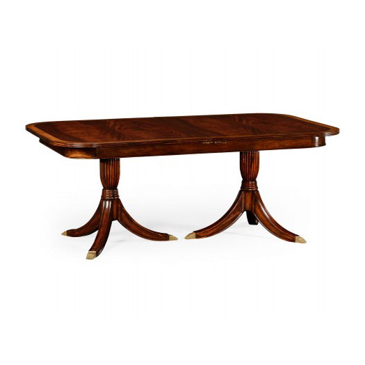 Regency single leaf extending dining table
