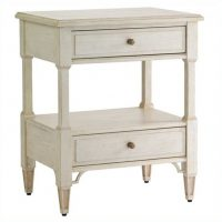 Preserve Botany Bedside Table in Orchid