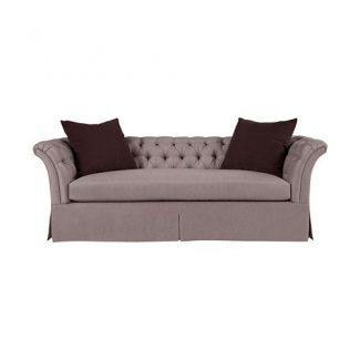 Marquette Tuffed Dressmaker Sofa