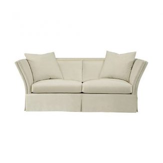 Pershing Dressmaker Sofa with Loose Pillow Back – 88""