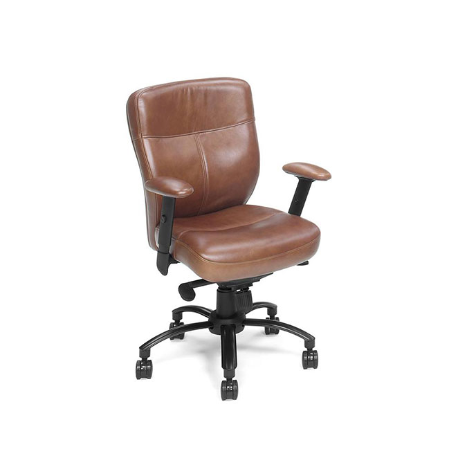 Brown Keats Executive Swivel Tilt Chair