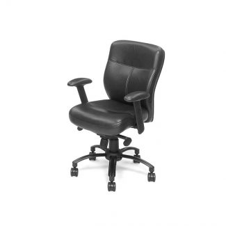 Prima Classe Black Executive Swivel Tilt Chair