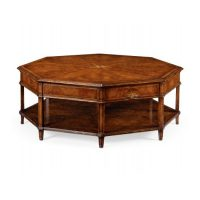 Starburst octagonal coffee table
