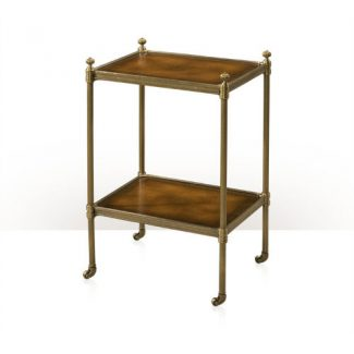 The Library Brass Side table 1