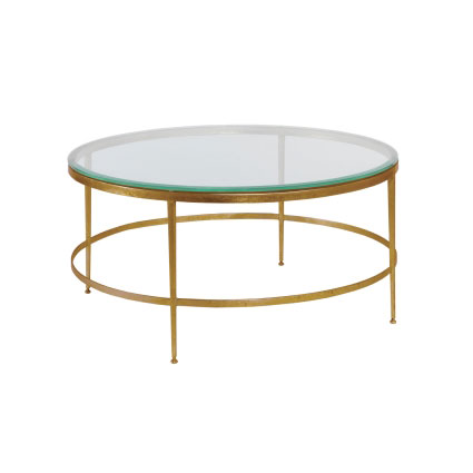 Tate Round Cocktail Table