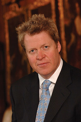 Charles, the Ninth Earl Spencer Visiting