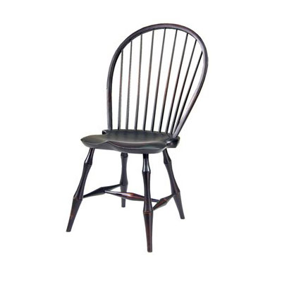 Bowback Side Windsor Chair Bamboo 1