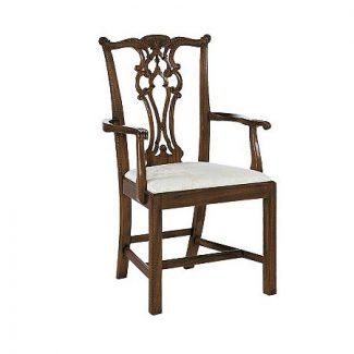 Rhode Island Chippendale Arm Chair 1