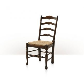 Vistory Oak Ladderback Side Chair