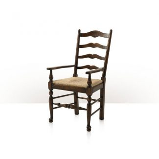Vistory Oak Ladderback Arm Chair 1