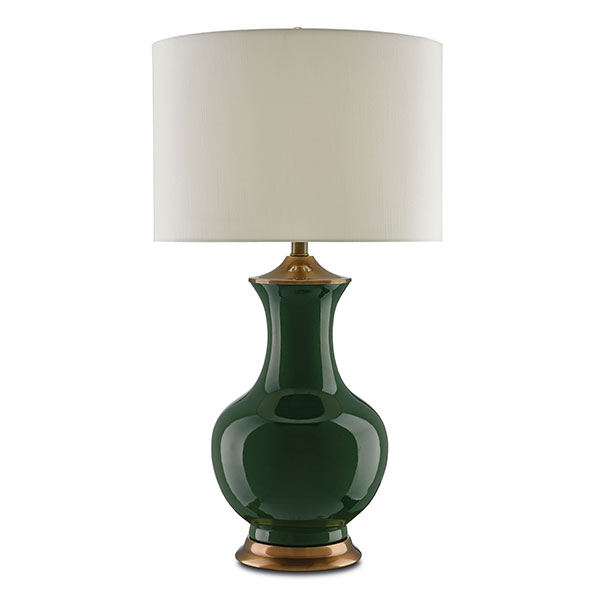 Lilou Table Lamp, Green