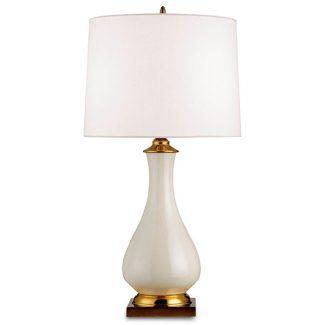 Lynton Table Lamp, White
