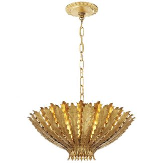 Hampton Chandelier in Gild