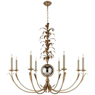 Gramercy Large Chandelier in Gilded Iron 1