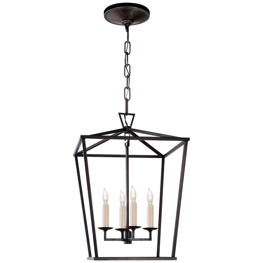 Darlana Small Lantern in Aged Iron 1
