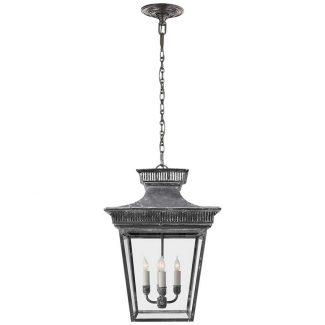 Elsinore Lantern in Weathered Zinc