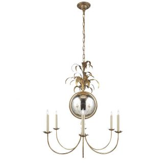 Gramercy Medium Chandelier in Gilded Iron 1
