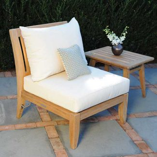 Ipanema Sectional Armless Chair 1