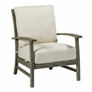 Charleston Teak Lounge Chair 1