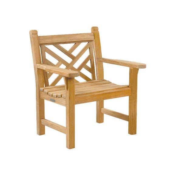Chippendale Garden Armchair 1