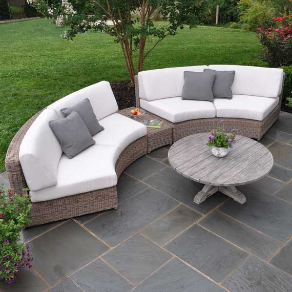 Sag Harbor Curved Sectional
