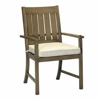 Club/Croquet Aluminum Arm Chair 1