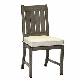 Club/Croquet Aluminum Side Chair 1