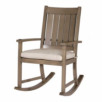Club Aluminum Slatted Rocker 1