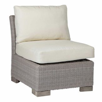 Club Woven Slipper Chair 1
