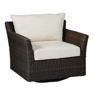 Club Woven Swivel Lounge 1