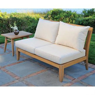 Ipanema Sectional Armless Settee 1