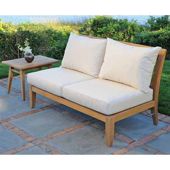 Ipanema Sectional Armless Settee