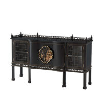 Pagoda Cabinet-on-Stand