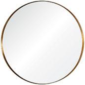 Hand Welded Round Stainless Steele Mirror