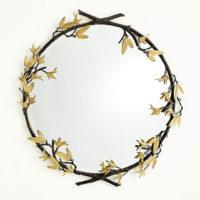 Bamboo Mirror Bronze