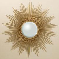 Sunburst Mirror Gold