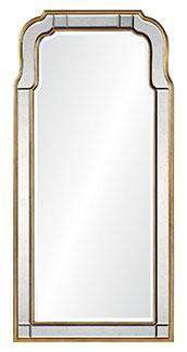 Mirror Framed Queen Anne Mirror